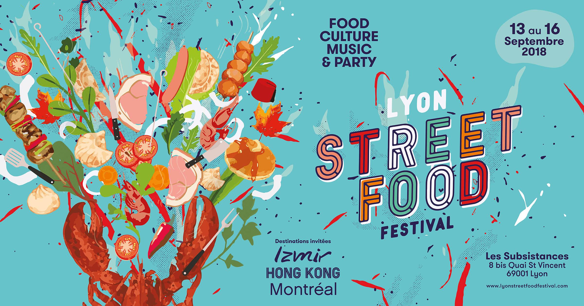 Programmation Lyon Street Food Festival Gastronomie